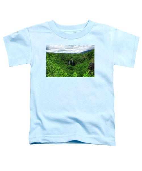 Opaeka Falls Toddler T-Shirt