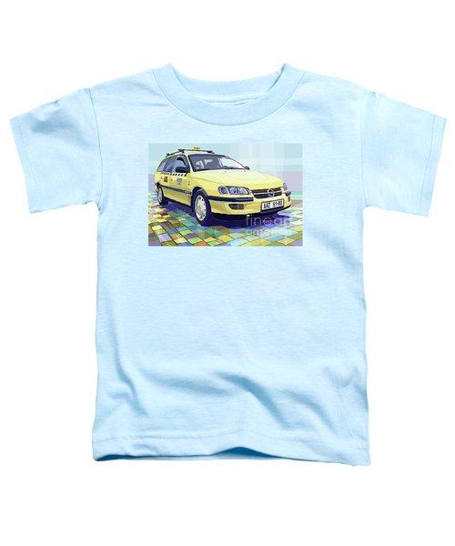 Opel Omega A Caravan Prague Taxi Toddler T-Shirt