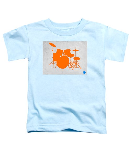 Orange Drum Set Toddler T-Shirt