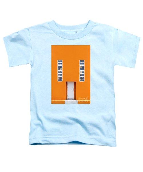 Orange Happy Toddler T-Shirt