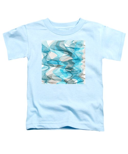 Orderly Blues And Grays Toddler T-Shirt