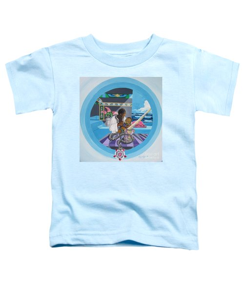 Blaa Kattproduksjoner             Osiris Feeding His Son Horus Toddler T-Shirt