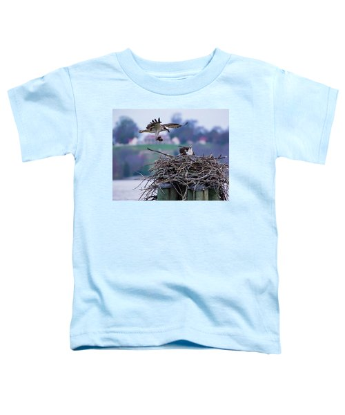 Osprey Nest Building Toddler T-Shirt