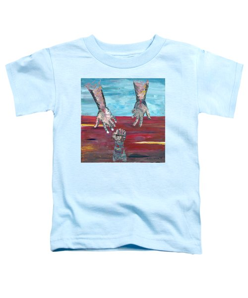 Our Sense Of Peace Is Only As Secure As Our Grasp Of Grace Toddler T-Shirt