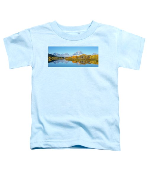 Oxbow Bend Pano In Autumn Toddler T-Shirt