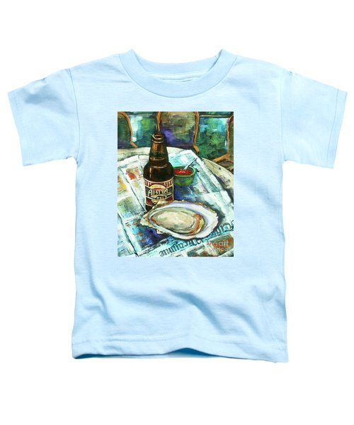 Oyster And Amber Toddler T-Shirt