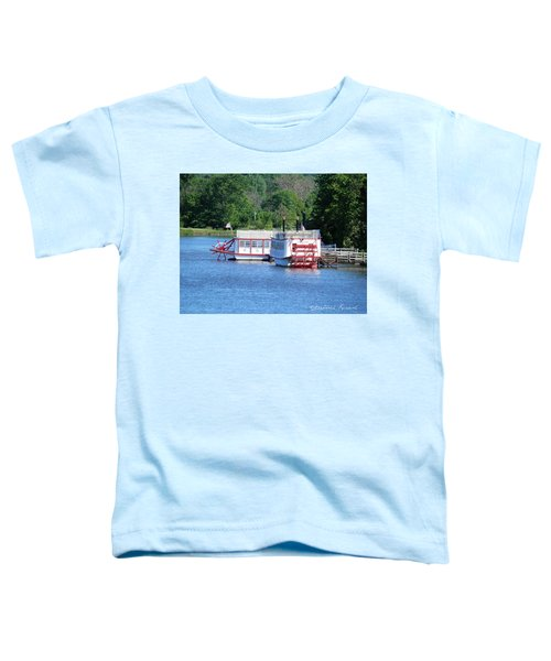 Paddleboat On The River Toddler T-Shirt