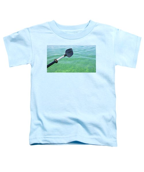 Paddling Grand Traverse Bay Toddler T-Shirt