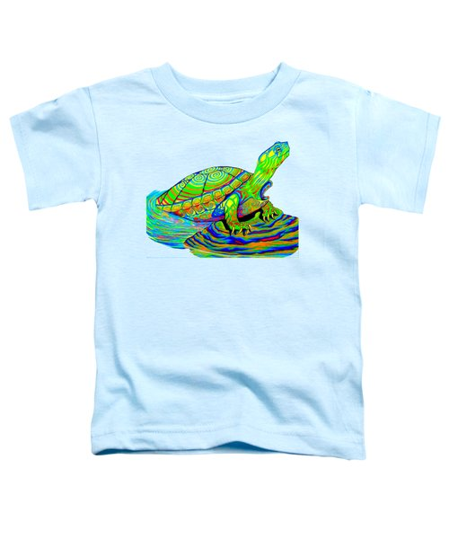 Painted Turtle Toddler T-Shirt