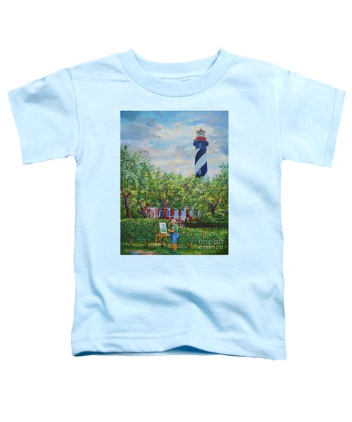 Painting The Light Toddler T-Shirt