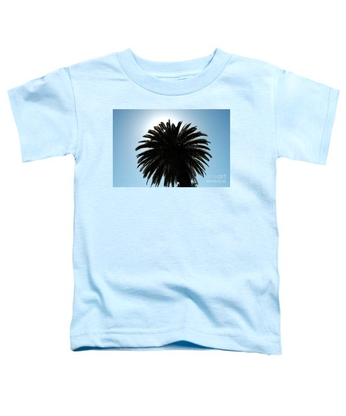 Palm Tree Silhouette Toddler T-Shirt