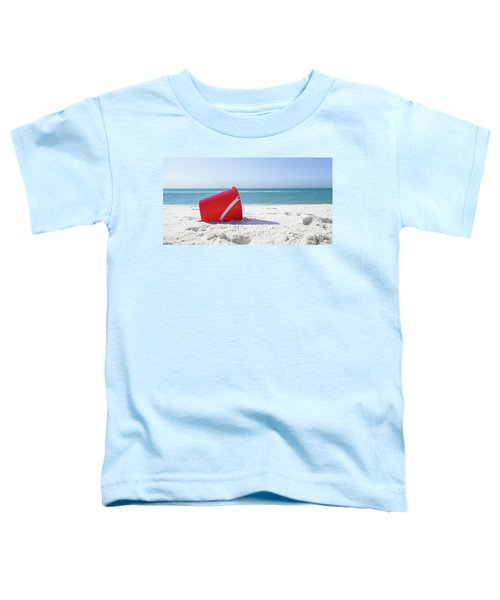 Panama Beach Florida Sandy Beach Toddler T-Shirt