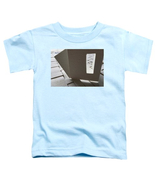 Paper Structure-3 Toddler T-Shirt