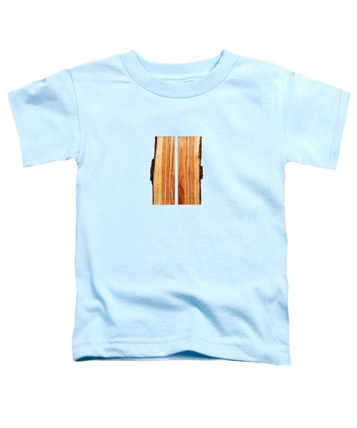 Parallel Wood Toddler T-Shirt by YoPedro