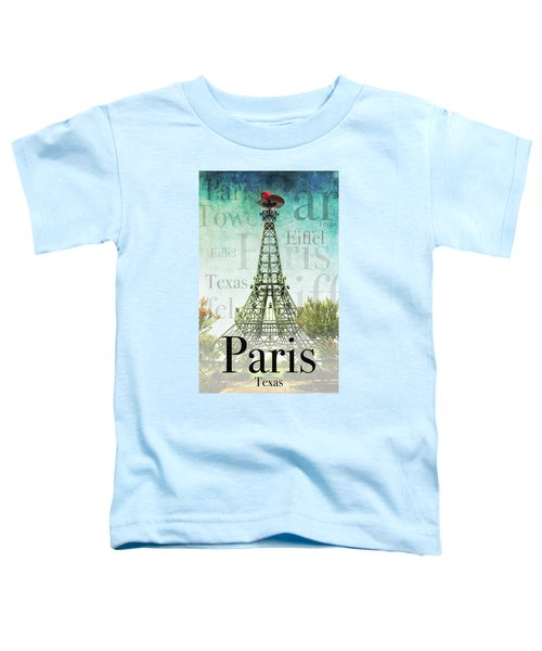 Paris Texas Style Toddler T-Shirt