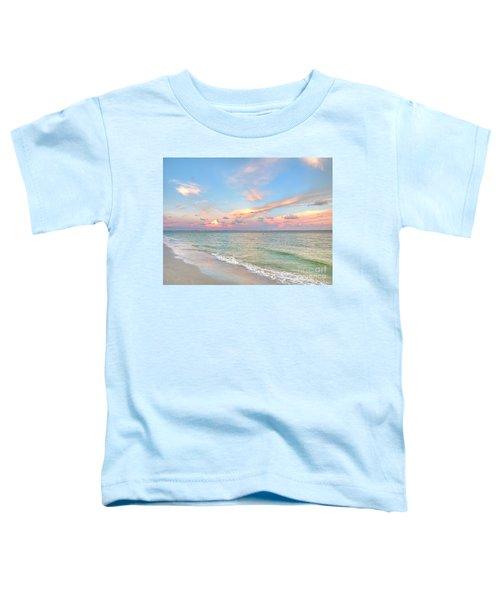 Pastel Sunset On Sanibel Island Toddler T-Shirt