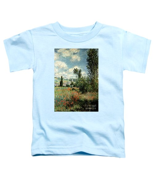 Path Through The Poppies Toddler T-Shirt
