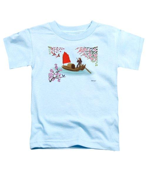Peaceful Journey Toddler T-Shirt by Glenn Holbrook