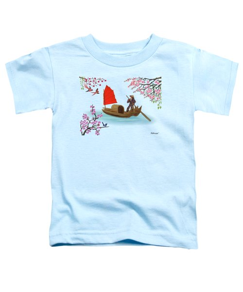 Peaceful Journey Toddler T-Shirt
