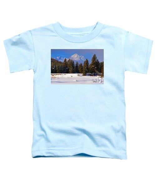 Peaking Through Toddler T-Shirt