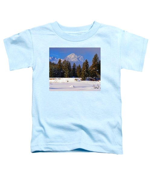 Toddler T-Shirt featuring the photograph Peaking Through by Greg Norrell