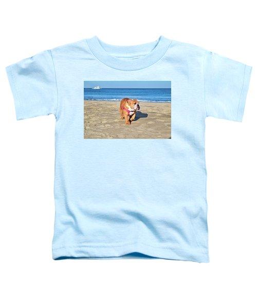 Peanut On The Beach Toddler T-Shirt