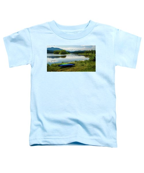 Pelicans At Shadow Mountain Lake Toddler T-Shirt