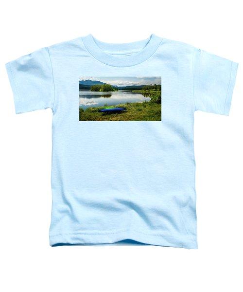 Pelicans At Shadow Mountain Lake Toddler T-Shirt