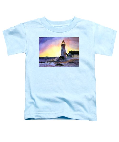 Pemaquid Point Lighthouse Maine Toddler T-Shirt