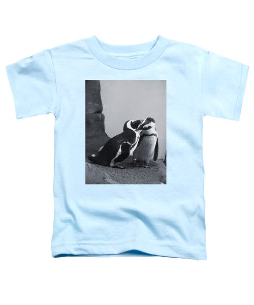 Penguins Toddler T-Shirt by Sandy Taylor