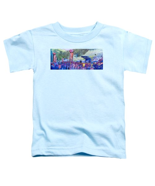 Peter Rowen At Copper Mountain Toddler T-Shirt