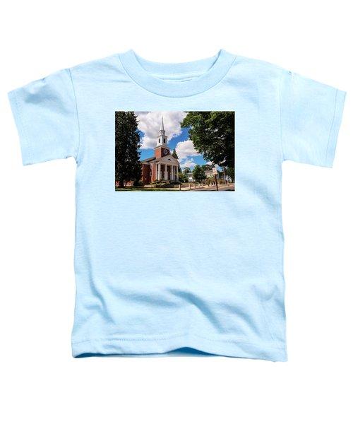 Phillips Stevens Chapel, Williston Northampton School, Easthampton, Ma Toddler T-Shirt