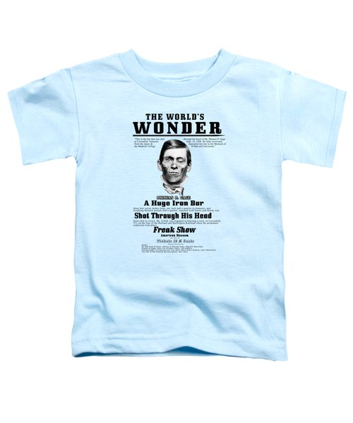 Phineas Gage World's Wonder Toddler T-Shirt