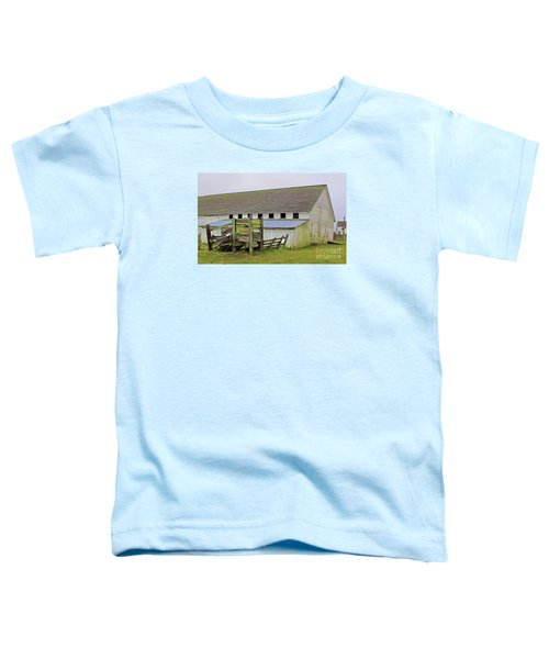 Pierce Pt. Ranch Barn Toddler T-Shirt