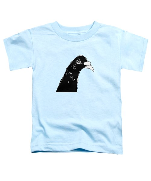 Pigeon Toddler T-Shirt by Matt Mawson
