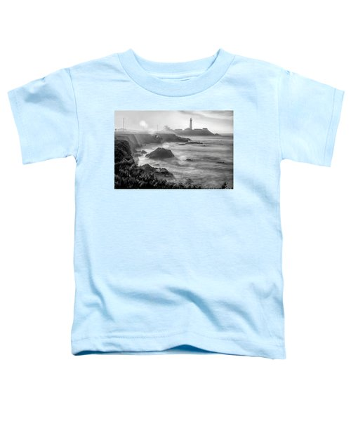 Pigeon Point Rocky Shore Toddler T-Shirt