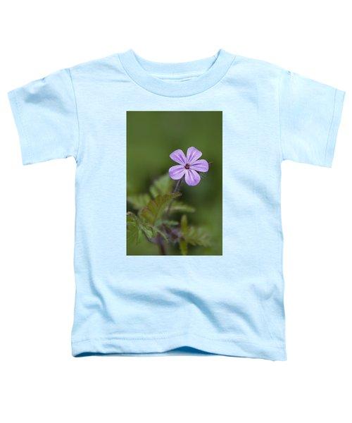 Pink Phlox Wildflower Toddler T-Shirt