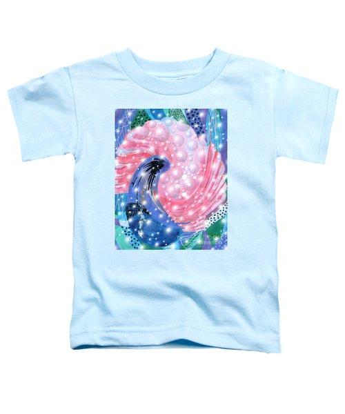 Pink Shell Fantasia Toddler T-Shirt