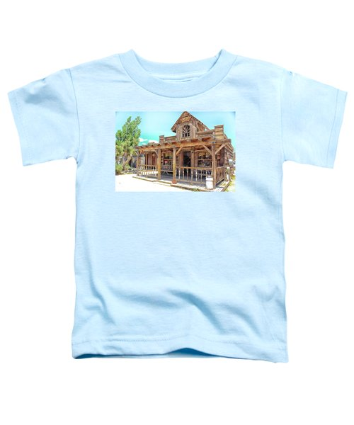 Toddler T-Shirt featuring the photograph Pioneertown, Usa by Alison Frank