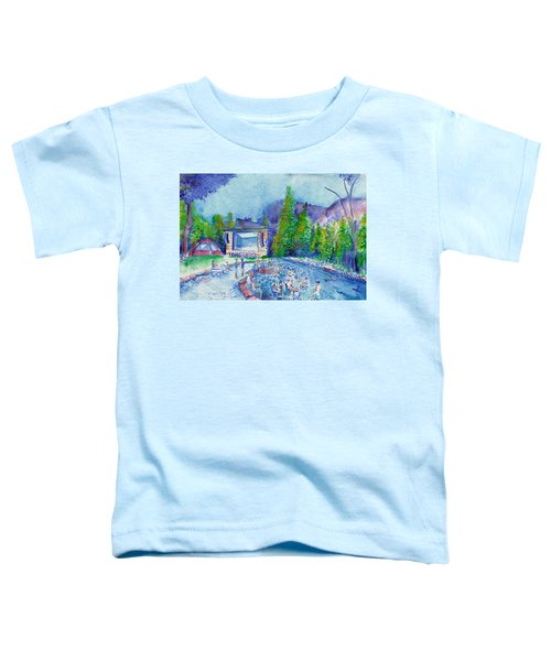 Planet Bluegrass Lyons Colorado Toddler T-Shirt