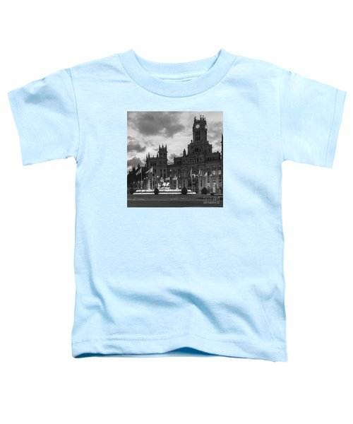 Plaza De Cibeles Fountain Madrid Spain Toddler T-Shirt
