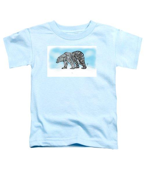 Polar Bear Doodle Toddler T-Shirt