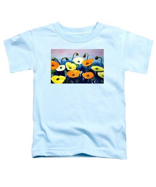 Poppies In Colour Toddler T-Shirt
