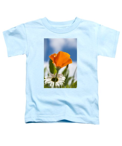 Poppy And Daisies Toddler T-Shirt