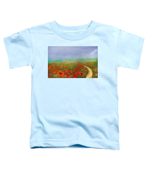 Poppy Field Impressions Toddler T-Shirt