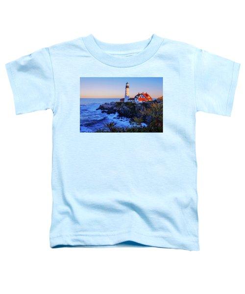 Portland Head Light II Toddler T-Shirt