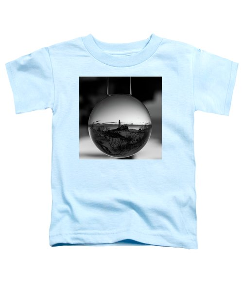 Portland Headlight Globe Toddler T-Shirt
