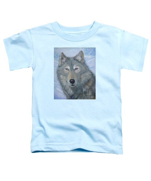 Portrait Of A Wolf Toddler T-Shirt