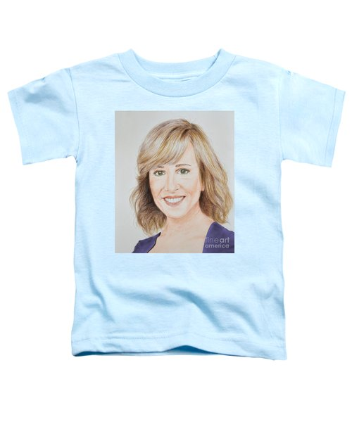 Portrait Of Jamie Colby Toddler T-Shirt