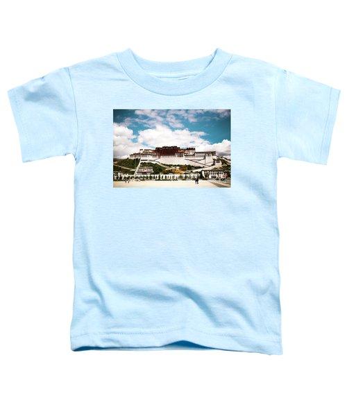 Potala Palace Dalai Lama Home Place In Tibet Kailash Yantra.lv 2016  Toddler T-Shirt